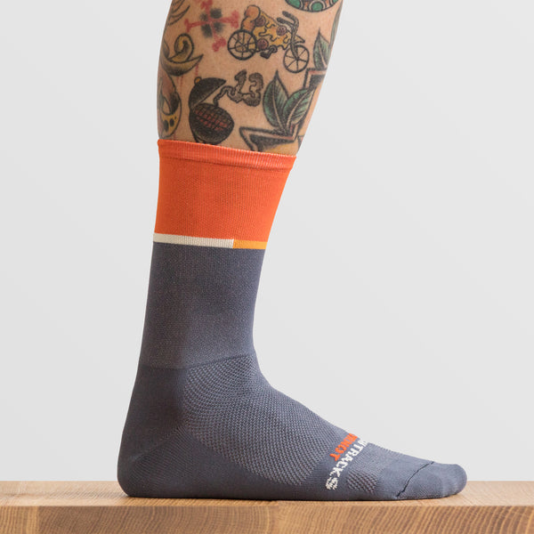 vive l'orange Sock
