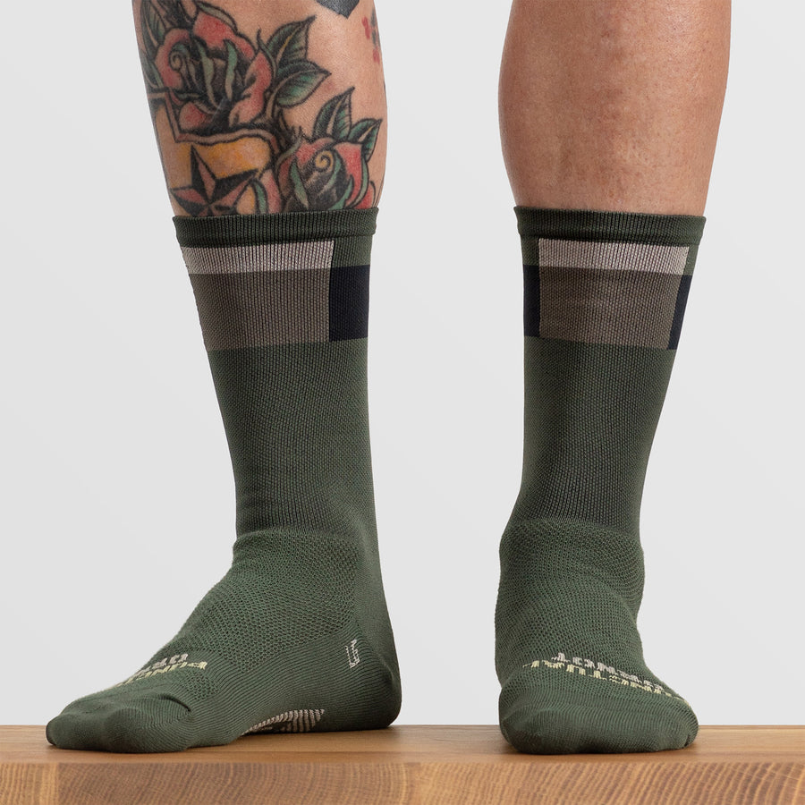 District Olive Sock