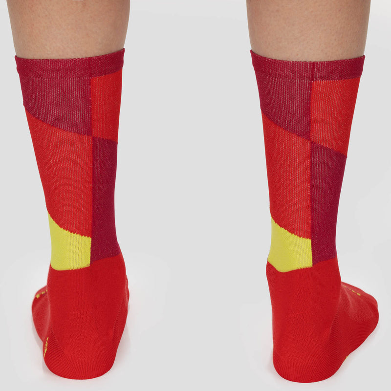 Barber Sock - Red