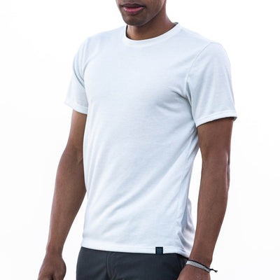 Tech Shirt with DriRelease - Ivory