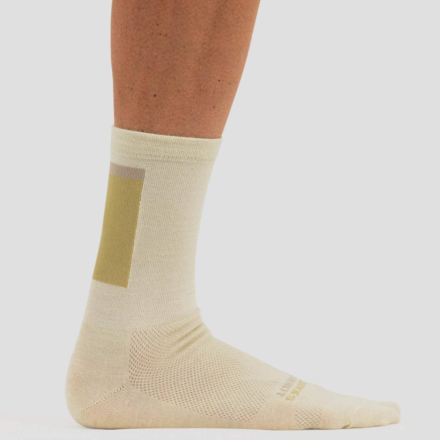 Natural Block Sock - Merino