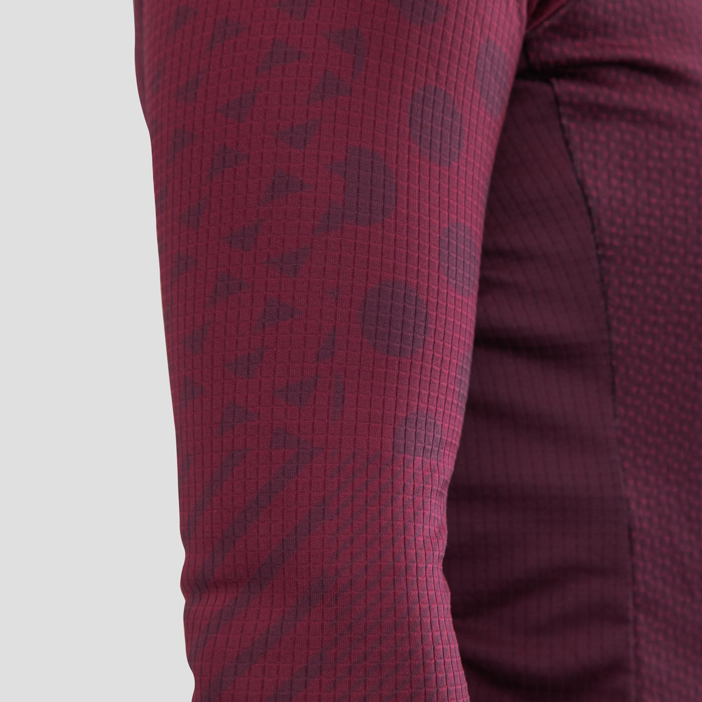 316457f5 Womens Code Thermal Jersey - Burgundy