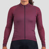 Womens Code Thermal Jersey - Burgundy