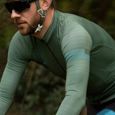 Mens Lightweight Long Sleeve Jersey - Olive