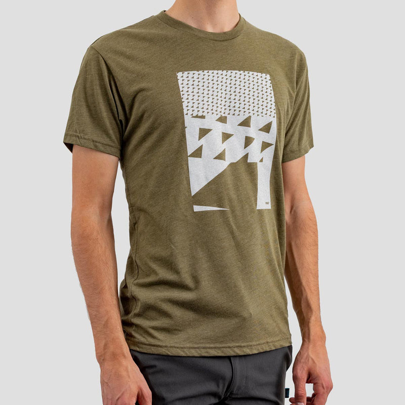 Bow Tie T Shirt - Olive