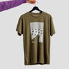 Bow Tie T Shirt - Olive (size small only)