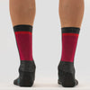 Red Merino Sock