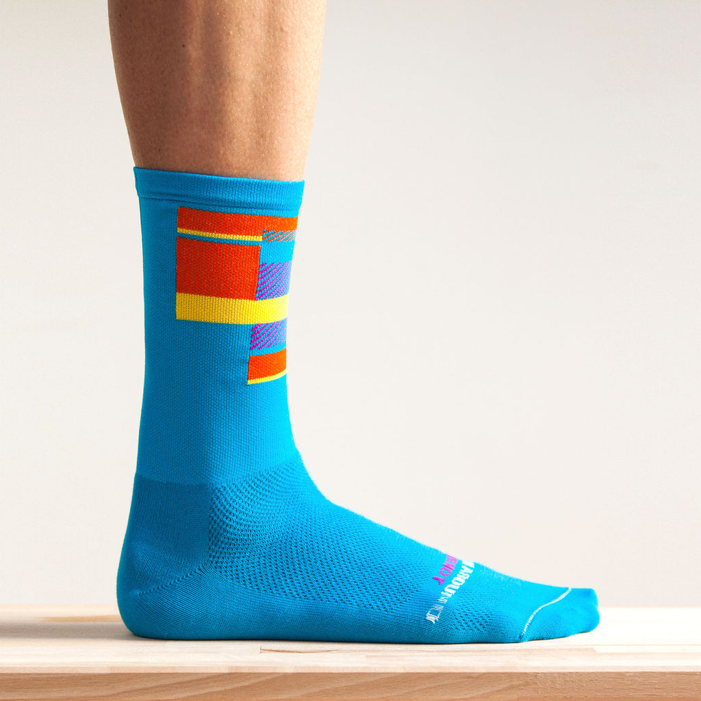 Ornot Radical Blue 2.0 Socks
