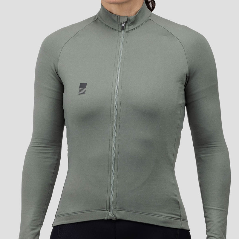 Womens Thermal Jersey - Sage