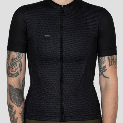 Womens Work Jersey - Obsidian