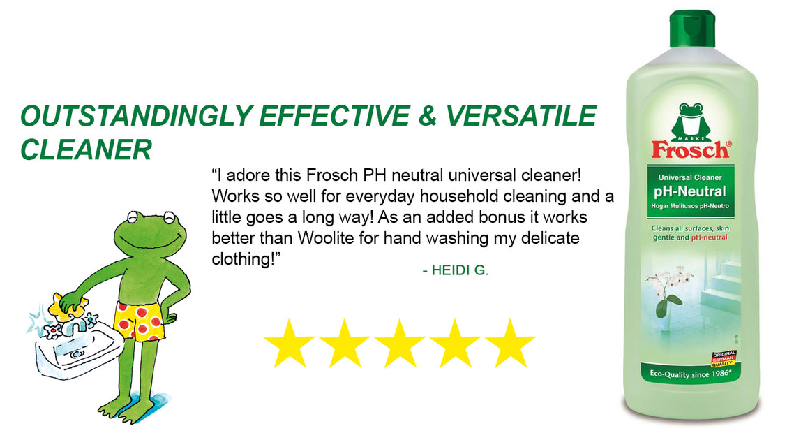 Frosch Environmentally Friendly And Vegan Cleaning