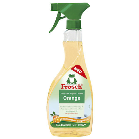 frosch orange glass cleaner