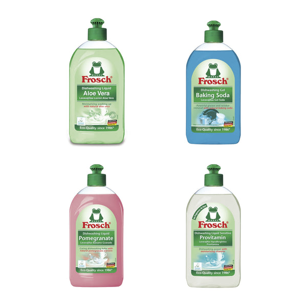 Frosch Dishwashing Liquid Sampler Kit - Frosch USA