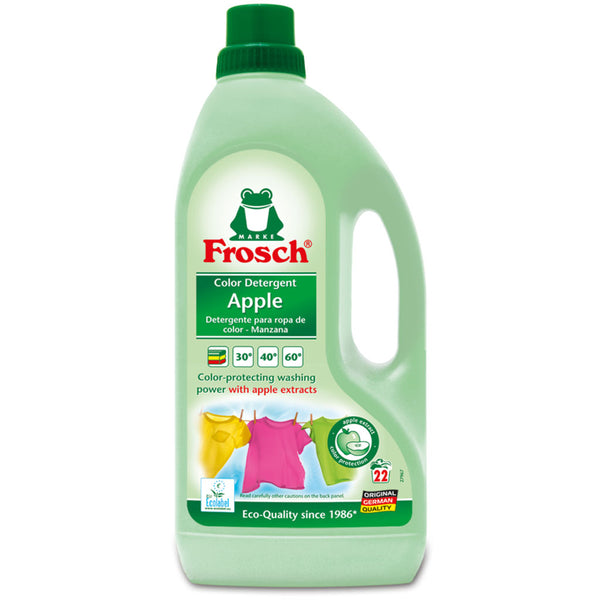 Apple Color Laundry Detergent - Frosch USA