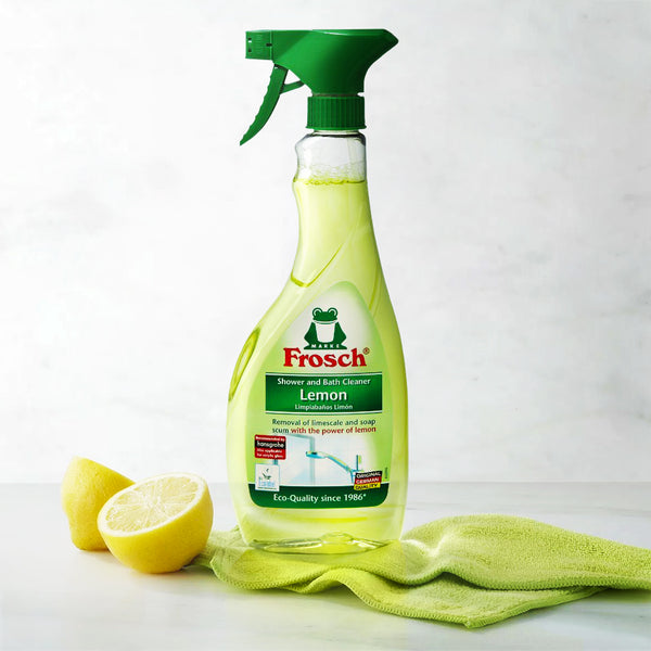 Lemon Shower and Bathroom Cleaner - Frosch USA