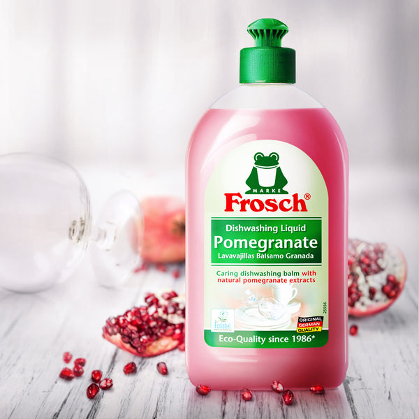 Pomegranate Dishwashing Liquid - Frosch USA