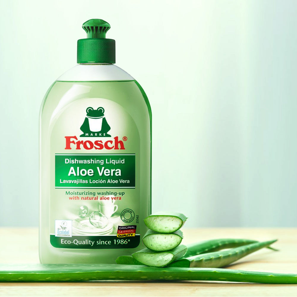 Aloe Vera Dishwashing Liquid - Frosch USA