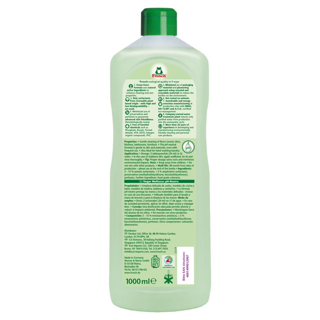 pH Neutral Universal Cleaner - Frosch USA