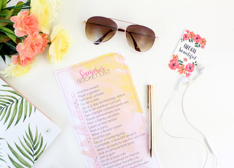 Summer Bucket List – bloom daily planners