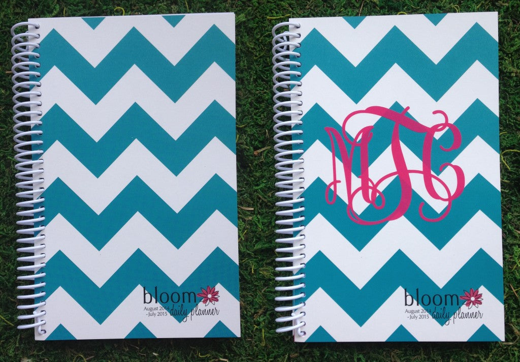 How To Monogram Your Planner for Less Than $4!
