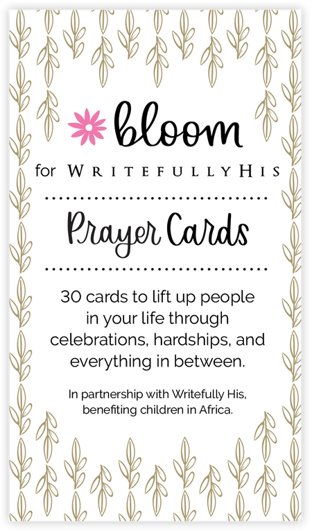 Card Deck, Prayer Pack