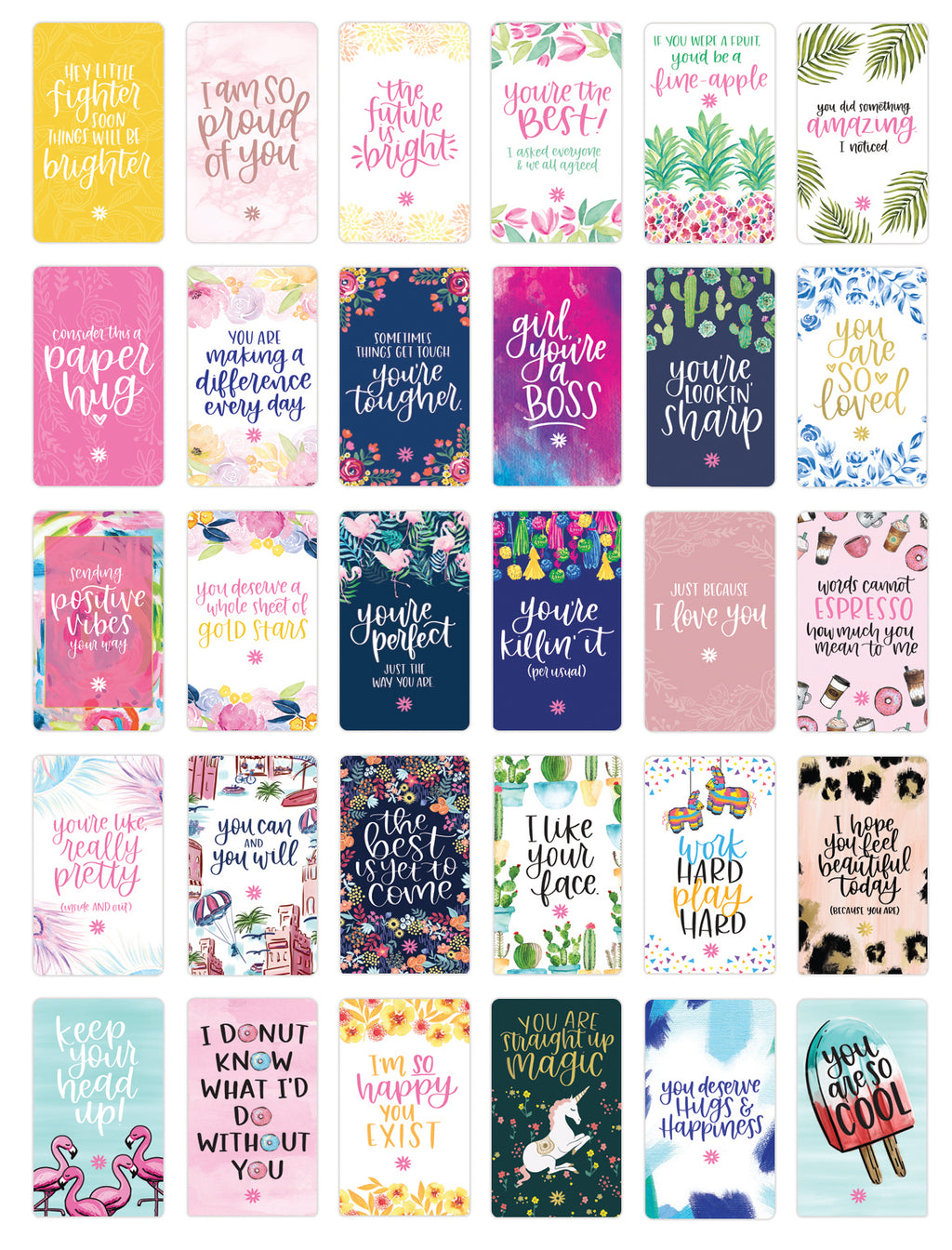 Encouragement Card Decks