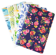 Mini Lined Notebook Set of 5, Assorted Patterns