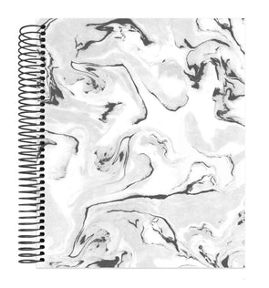 Undated Dot Journaling Planner & Calendar, Marble - IMPERFECT