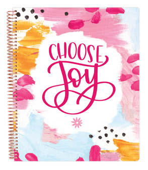 Ultimate Planner & Notebook - Choose Joy - PRE-ORDER SHIPS BY 7/1