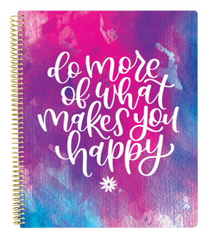 Ultimate Planner & Notebook - Do More of What Makes You Happy - PRE-ORDER SHIPS BY 7/1