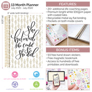 2021-22 Soft Cover Daily Planner & Calendar, Writefully His