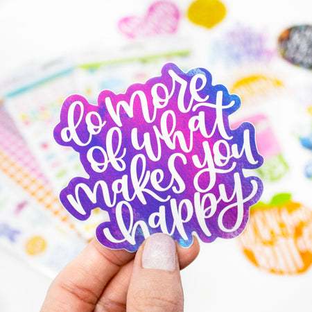 Vinyl Sticker Set, Positivity Pack