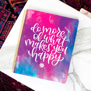 Ultimate Planner & Notebook - Do More of What Makes You Happy - IMPERFECT