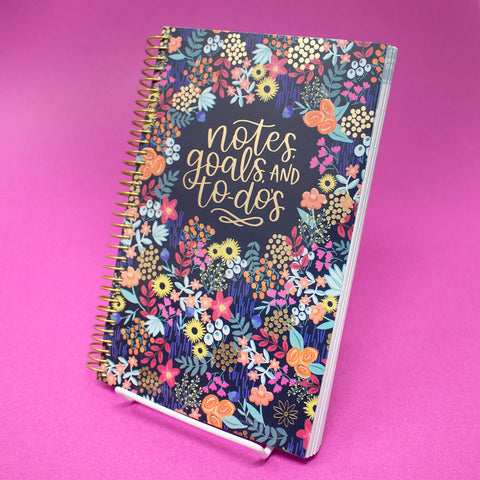 PRE-ORDER: Bound To-Do Book, Floral Dots
