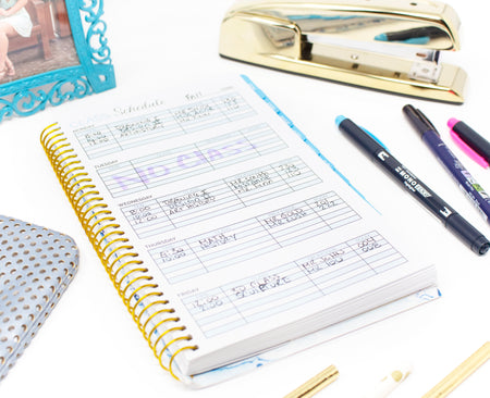 Undated Daily Planner & Calendar, Make it Happen - IMPERFECT