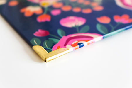 Clipboard, Vintage Floral - IMPERFECT