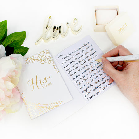 Vow Book Set, Floral