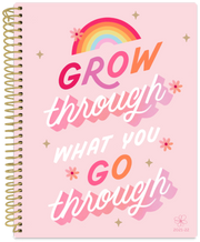 2021-22 Soft Cover Daisy Academic Student Planner & Calendar, Grow Through What You Go Through