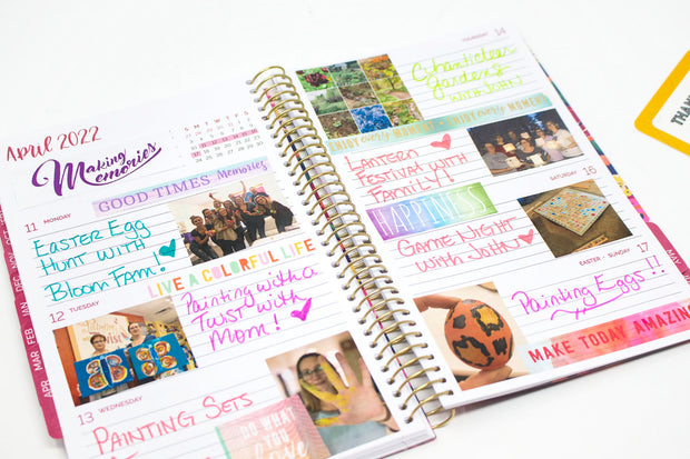 2021-22 Soft Cover Daily Planner & Calendar, Be Kind