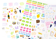 Sticker Sheets, Wedding Planning Stickers V2