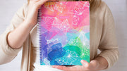 2021-22 Soft Cover Daisy Academic Student Planner & Calendar, Colorful Crystals