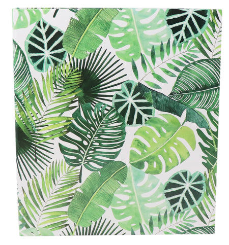 Binder, Tropical Palm Leaves