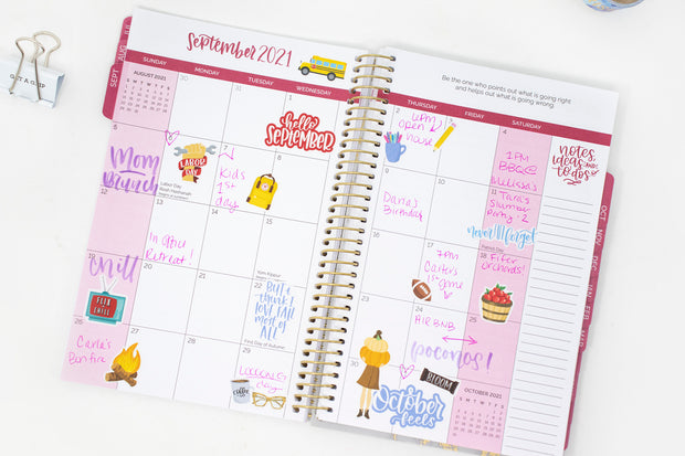 2021-22 Soft Cover Daily Planner & Calendar, Best is Yet to Come