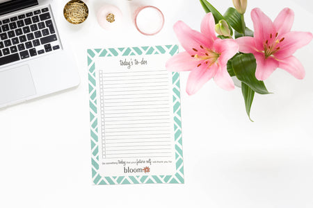 "Mint Slats To-Do Pad, 6"" x 9"""