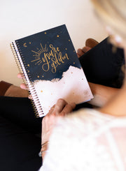 2021-22 Soft Cover Daily Planner & Calendar, You're Golden