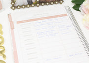 Wedding Planner & Calendar, Silver Floral - IMPERFECT