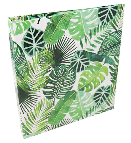 PRE-ORDER: Binder, Tropical Palm Leaves