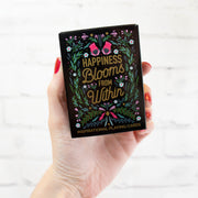 Playing Cards, Happiness Blooms From Within