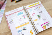 2021-22 Soft Cover Daily Planner & Calendar, Cleerely Stated