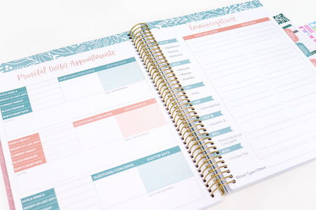 Pregnancy & Baby's First Year Planner & Calendar - IMPERFECT